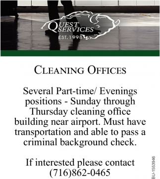 Cleaning Offices
