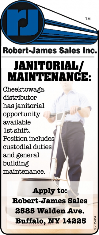 Janitorial/ Maintenance
