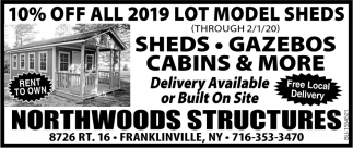 Sheds - Gazebos Cabins & More