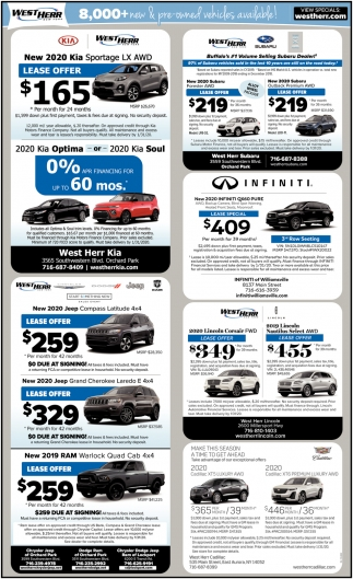 8,000+ New & Pre-Owned Vehicles Available!