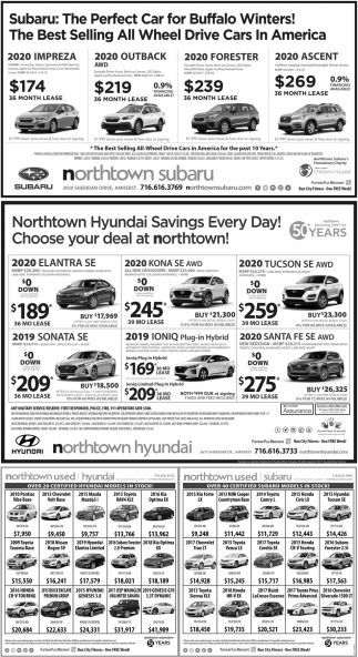 Northtown Hyundai Savings Every Day!
