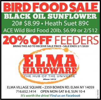 Bird Food Sale