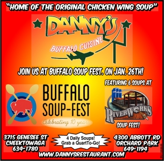 Home of the Original Chicken Wing Soup