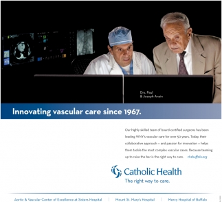 Innovating Vascular Care Since 1967
