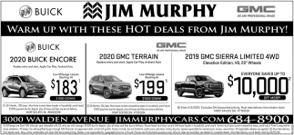 Warm Up with these Hot Deals from Jim Murphy!