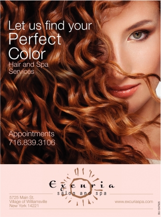 Let Us Find Your Perfect Color