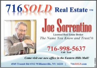 Licensed Real Estate Broker