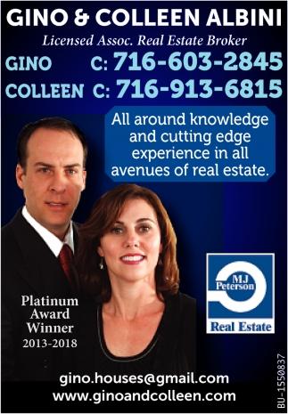 Licensed Assoc. Real Estate Broker