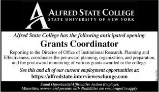 Grants Coordinator
