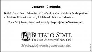 Lecturer 10 Months