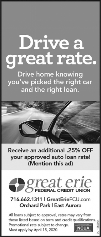 Drive a Great Rate