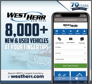 8,000+ New & Used Vehicles at Your Fingertips