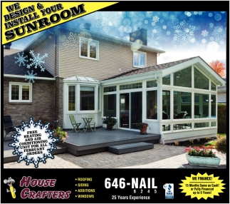 We Design & Install Your Sunroom