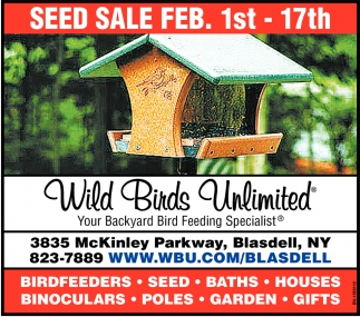 Seed Sale Feb. 1st