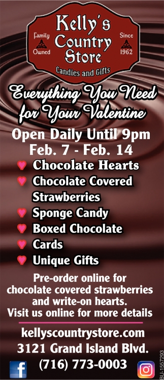Everything You Need for Your Valentine