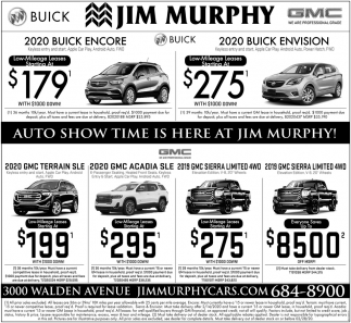 Auto Show time is Here at Jim Murphy!