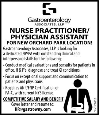 Nurse Practitioner/ Physician Assistant