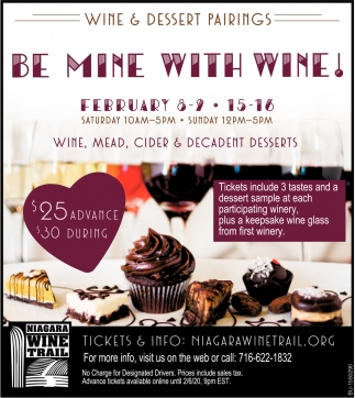 Be Mine with Wine!