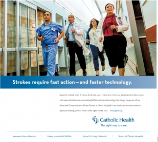Strokes require Fast Action - and Faster Technology