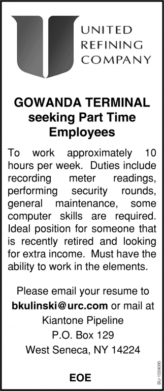 Part Time Employees