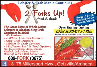 Lobster & Crab Mania Continues