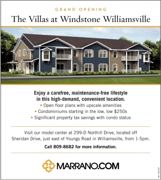 The Villas at Windstone Williamsville