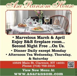 Marvelous March & April!