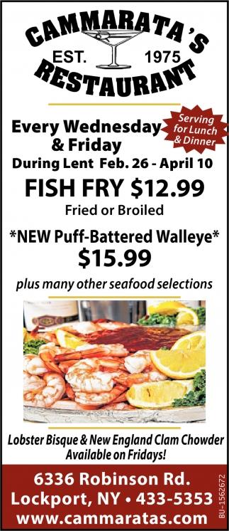 Fish Fry $12.99