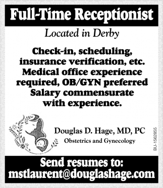 Full-Time Receptionist