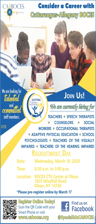 We Are Looking For Talented and Committed Staff Members