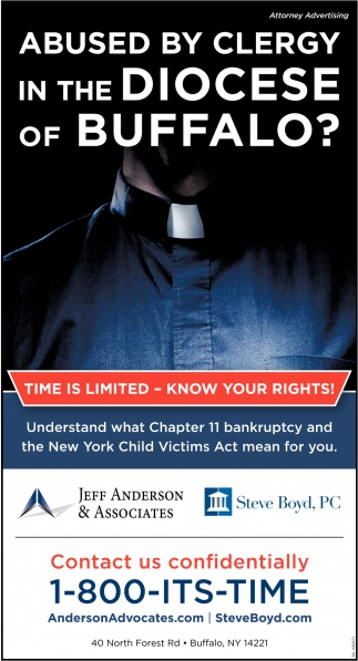 Abused by Clergy in the Diocese of Buffalo?