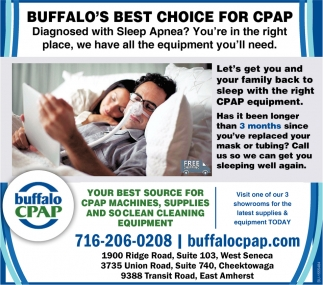 Buffalo's Best Choice for CPAP