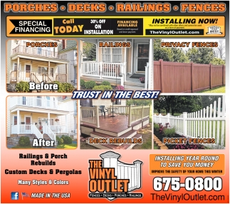 Railing & Porch Rebuilds