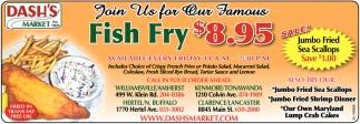 Fish Fry $8.95