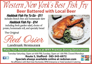 Western New York Best Fish Fry!