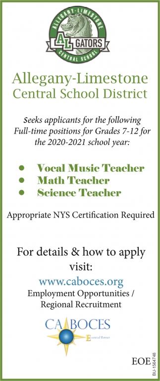Vocal Music Teacher
