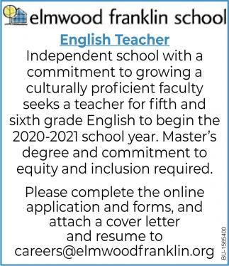 English Teacher