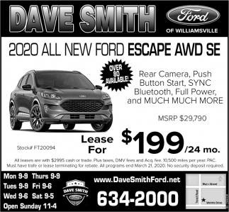 2020 All New Ford!