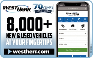 8000+ New & Pre-Owned Vehicles