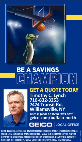 Be a Savings Champion