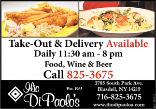 Take-Out & Delivery