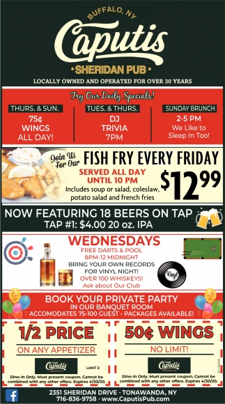 Fish Fry Every Friday
