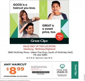 Good Is a Haircut You Love