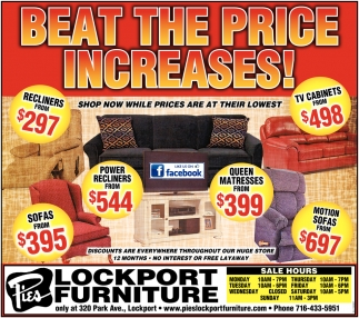 Beat The Price Increases!