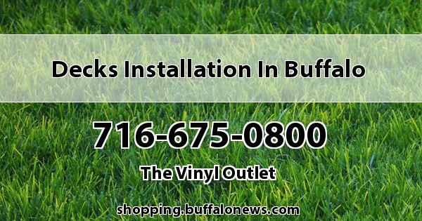 Decks Installation in Buffalo